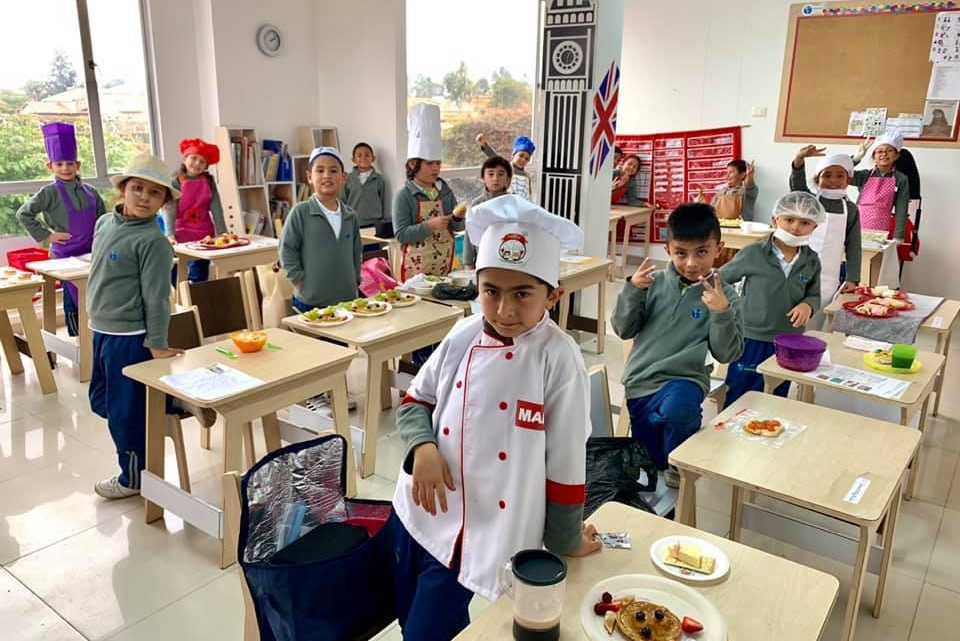 Master Chef Junior en International Garden.