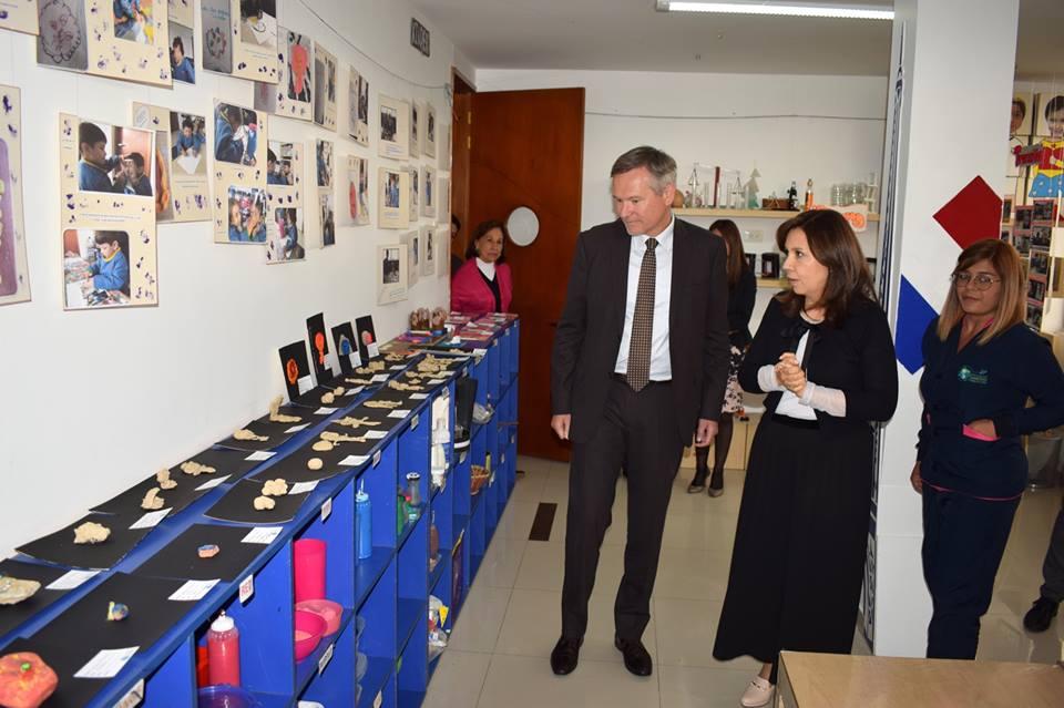Visita del Excelentísimo Sr. EMBAJADOR DE FRANCIA