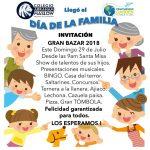 INVITACIÓN GRAN DÍA DE LA FAMILIA 2018.