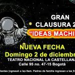La GRAN CLAUSURA DEL COLEGIO ABRAHAM MASLOW