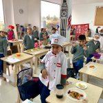 Master Chef Junior en International Garden.
