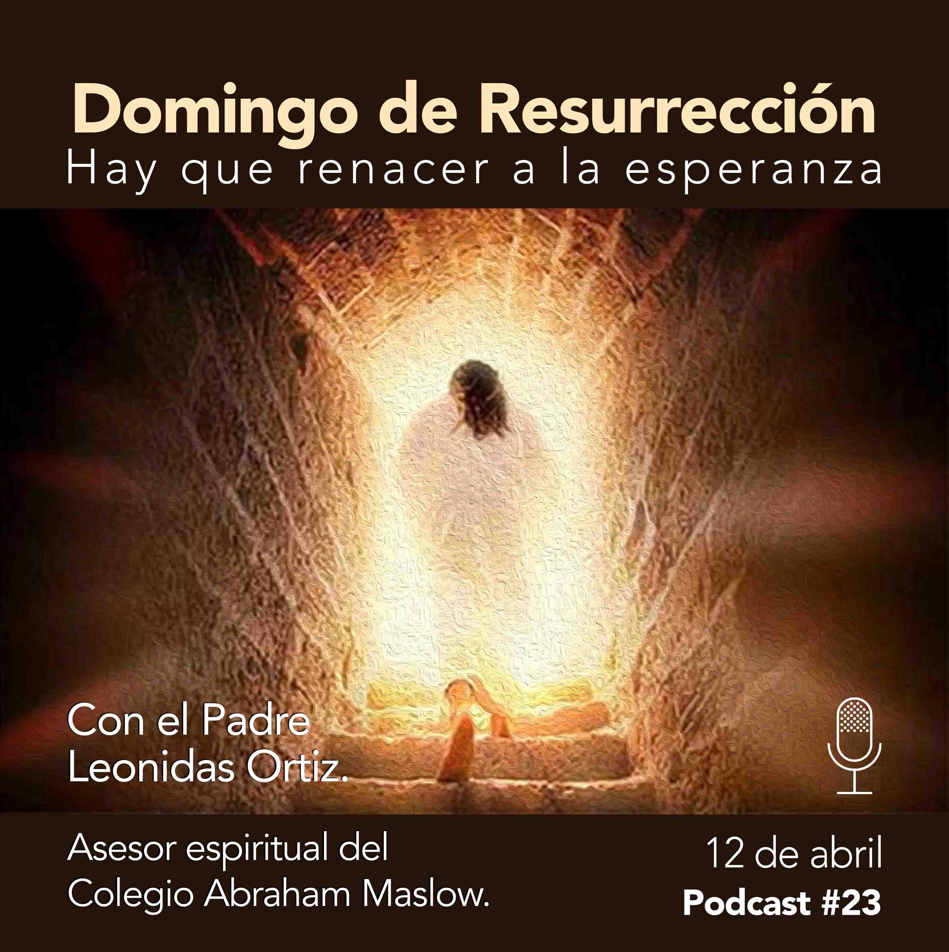 Podcast #23: Domingo de Resurrección. Hay que renacer a la esperanza.