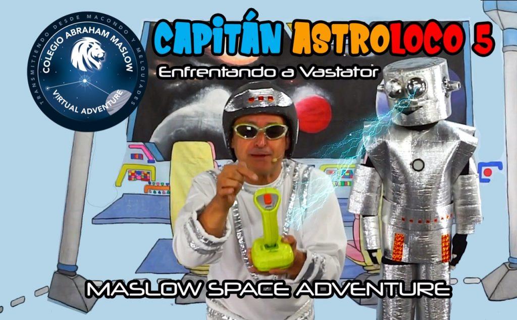 Capitán Astroloco 5: Enfrentando a Vástator