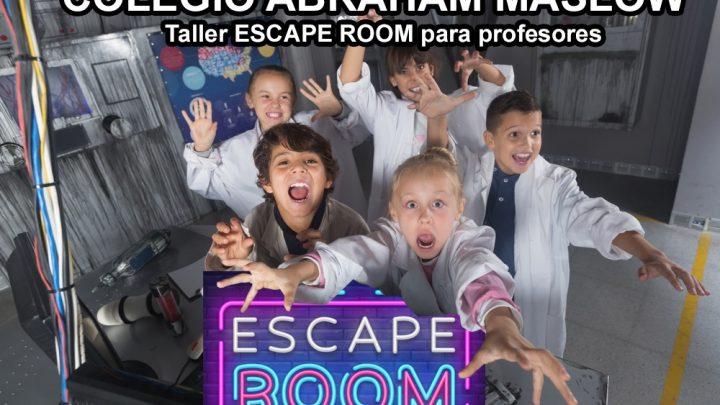 HOY LOS PROFESORES SE CAPACITARÁN EN ESCAPE ROOMS: ¿Podrán escapar sus hijos?