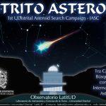 Nuestro semillero de Astronomía, Antlia, se encuentra participando en el búsqueda de asteroides